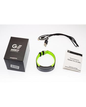 garett electronics OPASKA SPORTOWA SMARTBAND FIT23 GPS CZARNO-ZIELONY
