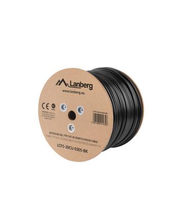 lanberg Kabel FTP Kat.5E CU 305m drut outdoor żelowany