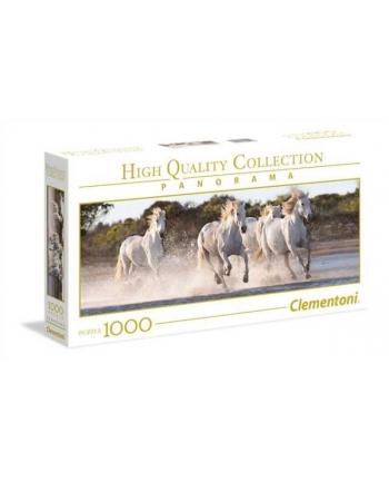 Clementoni Puzzle 1000el HQC Panorama. Running Horses 39441
