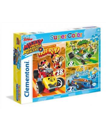 Clementoni Puzzle 3x48el Mickey 25227