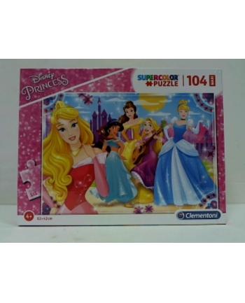 Clementoni Puzzle 104 Maxi Princess 23714