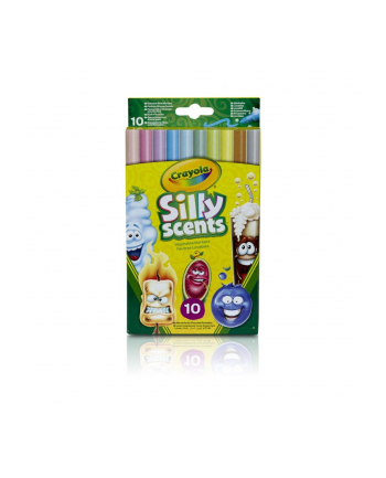 crayola Silly Scents Markery 10 sztuk
