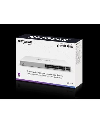 netgear Przełącznik Smart GC728XP 24 x GE PoE 2 x SFP 2 X SFP+