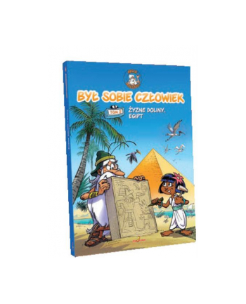 hippocampus Książka komiks Był sobie człowiek cz2 Egipt