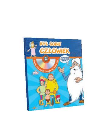 hippocampus Książka Mini encyklopedia Był sobie człowiek + DVD