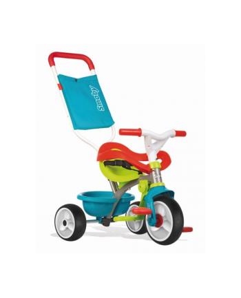 Rowerek trójkołowy Be Move niebieski komfort SMOBY