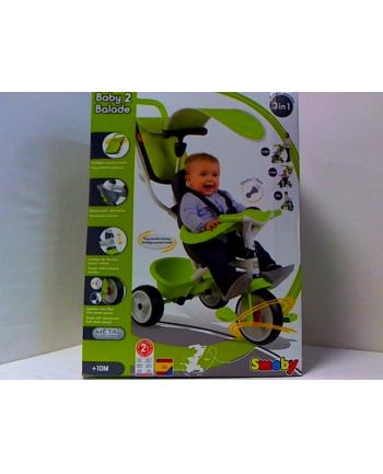 Rowerek trójkołowy BABY BALADE zielony SMOBY