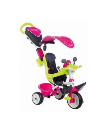 Rowerek trójkołowy Baby Driver komfort różowy SMOBY