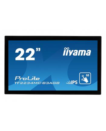 Monitor IIyama TF2234MC-B3AGB 21.5inch, IPS touchscreen, Full HD, VGA, DVI-D, US