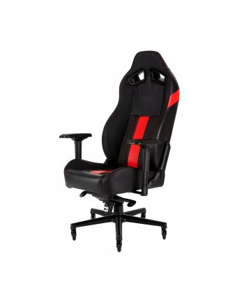 Corsair Fotel Gamingowy T2 ROAD WARRIOR, Czarny/Czerwony