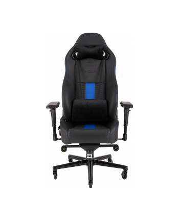 Corsair Fotel Gamingowy T2 ROAD WARRIOR, Czarny/Niebieski