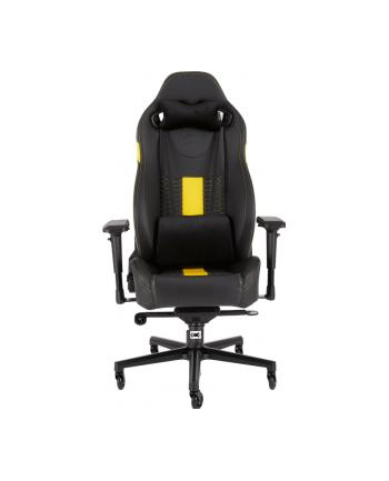 Corsair Fotel Gamingowy T2 ROAD WARRIOR, Czarny/Żółty