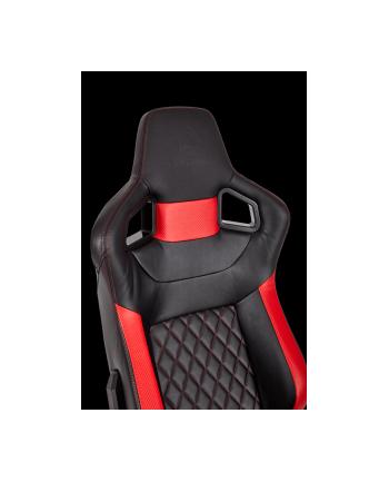 Corsair Fotel Gamingowy T1 RACE 2018, Czarny/Czerwony