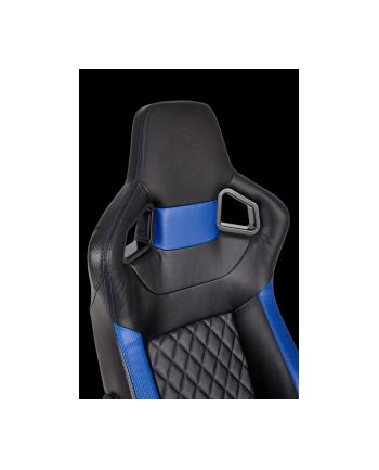 Corsair Fotel Gamingowy T1 RACE 2018, Czarny/Niebieski