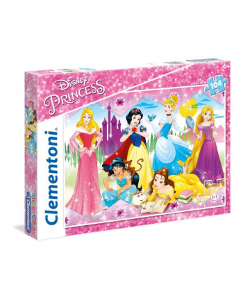 Clementoni Puzzle 104el Princess 27086