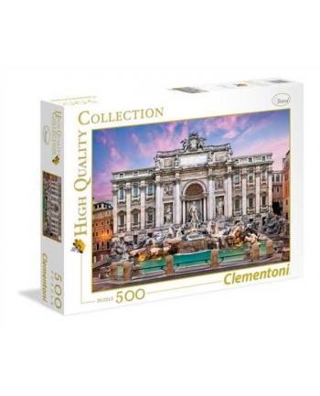 Clementoni Puzzle 500el HQC Trevi Fountain 35047