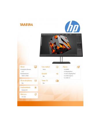 hp inc. 31.5' Z32 4H UHD Display 1AA81A4