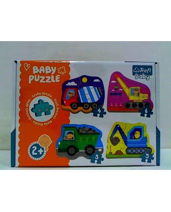 Puzzle Baby classic Pojazdy na budowie.  36072 Trefl
