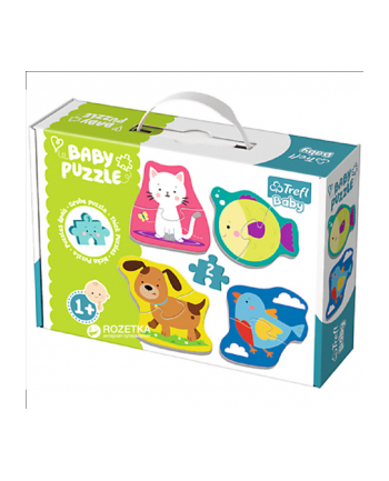 Puzzle Baby classic Zwierzątka.  36074 Trefl
