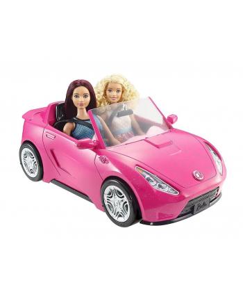 BRB Różowy kabriolet Barbie DVX59 MATTEL