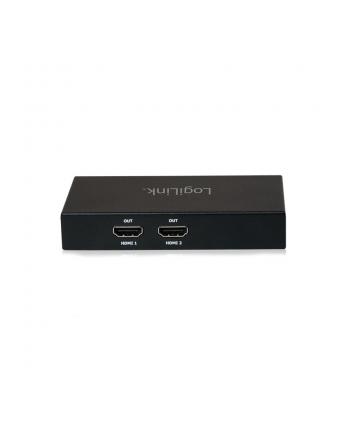 logilink Splitter 4K Mini display Port 1.2 do 2xHDMI
