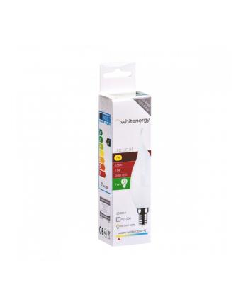 whitenergy Żarówka LED C37L E14 7W 556lm ciepła biała mleczna