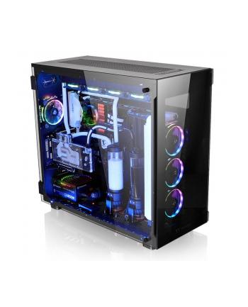 thermaltake View 91 RGB Riing Tempered Glass XL-ATX Super Tower - Black
