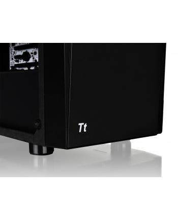 thermaltake Versa J21 USB3.0 Tempered Glass - Black