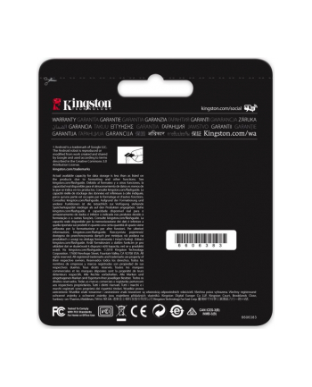 Karta pamięci Kingston microSDXC Canvas React 64GB Class 10 UHS-I U3