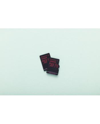 Karta pamięci Kingston microSDXC Canvas React 64GB Class 10 UHS-I U3 + adapter