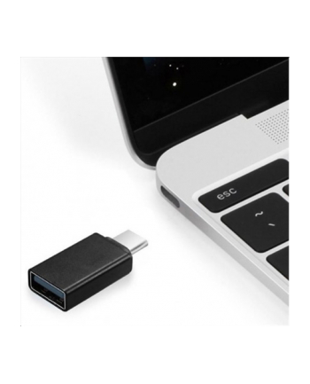 Adapter Gembird USB type-C(M) - USB 2.0 A(F) 2.0 czarny