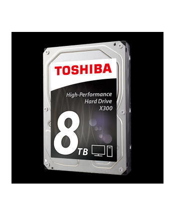 Dysk Toshiba X300 HDWF180UZSVA 3,5'' 8TB SATA 7200 128MB BULK