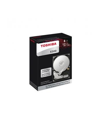 Dysk Toshiba X300 HDWR11AUZSVA 3,5'' 10TB SATA 7200 256MB BULK