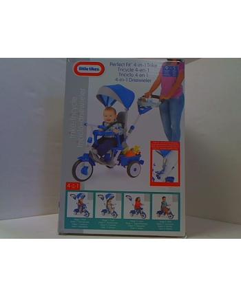 little tikes LT Rowerek trójkołowy 4w1 Perfect Fit niebieski 643705
