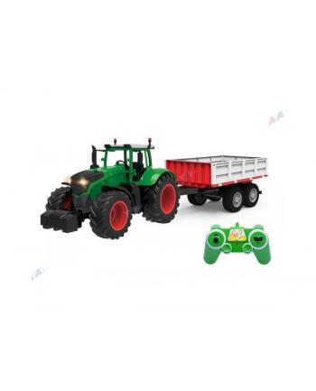bruder Traktor z przyczepą 2 osie  E354-003 100% RTR 4,8V 27MHz Double Eagle