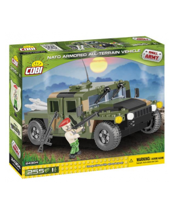 COBI 24304 MA Pojazd NATO AAT Vehicle - Green Camo