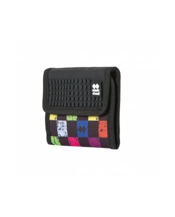 pixelbags PIXIECREW Portfel kolorowa kratka