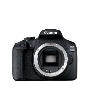 Cyfrowa lustrzanka Canon EOS 2000D BK BODY EU26