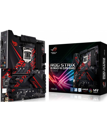 ASUS LGA1151 ROG STRIX B360-H GAMING, Intel B360, 4xDDR4, VGA