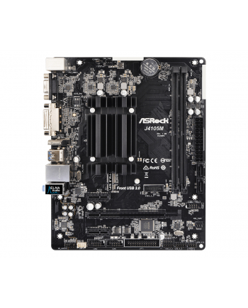 ASRock zintegrowany procesor J4105M, 2xDDR4, VGA, micro-ATX
