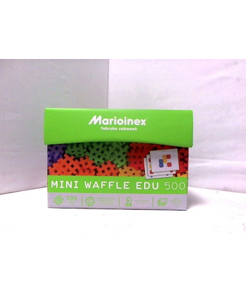 Klocki waffle mini 500szt. MARIO-INEX