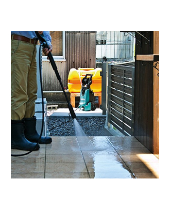 Makita HW1300 130 Bar Power Washer - 240 V - Blue - Home & Garden