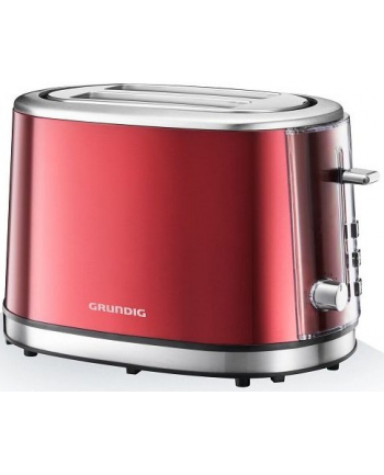 Grundig Grun Toaster TA 6330 - red/steel