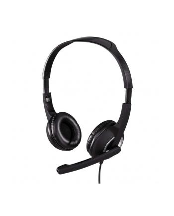 HAMA POLSKA Słuchawki z mikrofonem Hama Essential HS 300