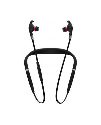 Jabra Evolve 75E MS - In-Ear Bluetooth - black/red