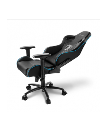 Sharkoon Skiller SGS4 Gaming Seat - black/blue