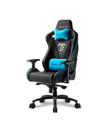 Sharkoon Skiller SGS4 Gaming Seat - black/blue