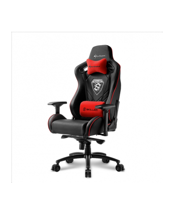 Sharkoon Skiller SGS4 Gaming Seat - black/red
