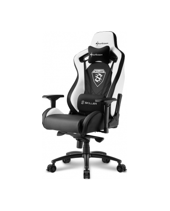 Sharkoon Skiller SGS4 Gaming Seat - black/white