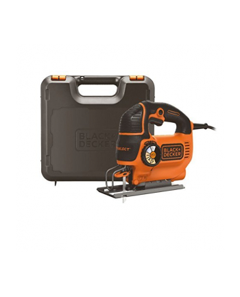 Black&Decker KS801SEK auto select electric scroll jigsaw incl. case